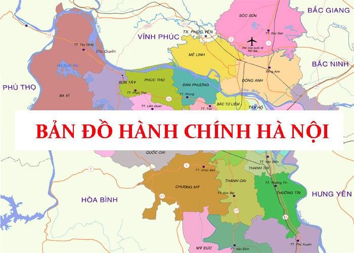 Bản đồ Thành phố Hà Nội
