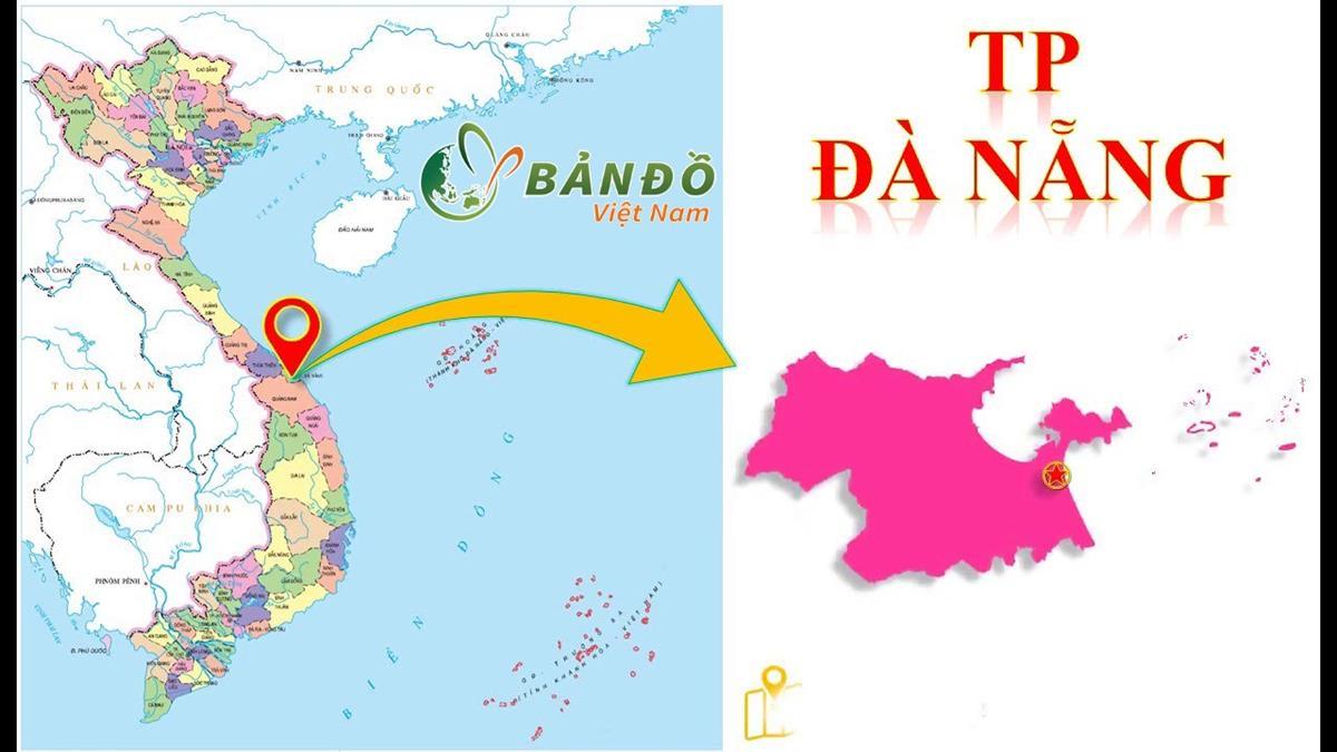 Bản đồ Thành phố Đà Nẵng năm 2021